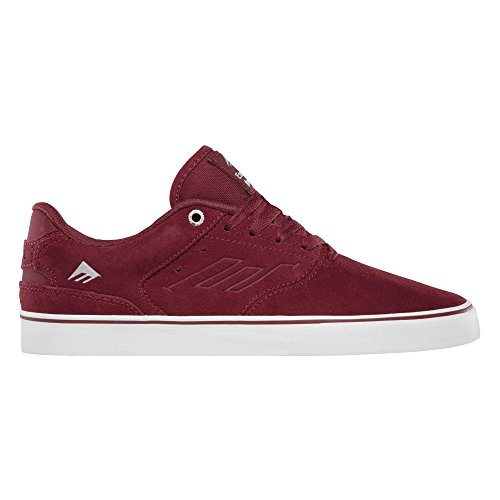 Emerica The Reynolds Low Vulc, Color: Red/White/Gum, Size: 48 Eu / 14 Us / 13.5 Uk