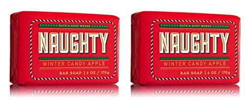 Winter Candy Apple Naughty Bar Soap - 2 (Apple Bar Soap)