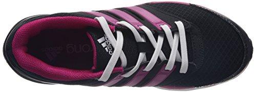 Adidas Falcon Elite 3 - Zapatillas de running para mujer Black 1/Pink Buzz S10/Running White
