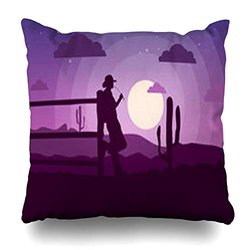 """YeaSHARK Throw Pillow Covers Square 16""""x16"""" West Purple for sale  Delivered anywhere in Canada"""