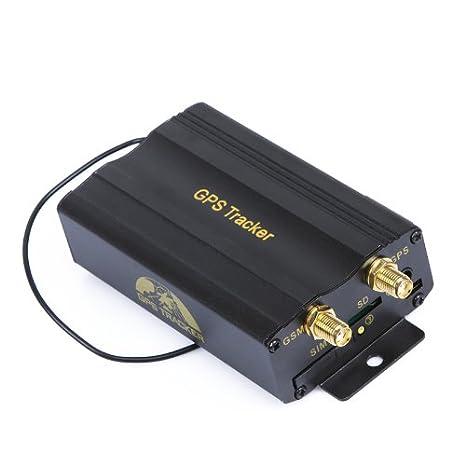 Kingzer 2 SIM GPS/GSM/GPRS Tracker TK103B en tiempo real + mando a ...