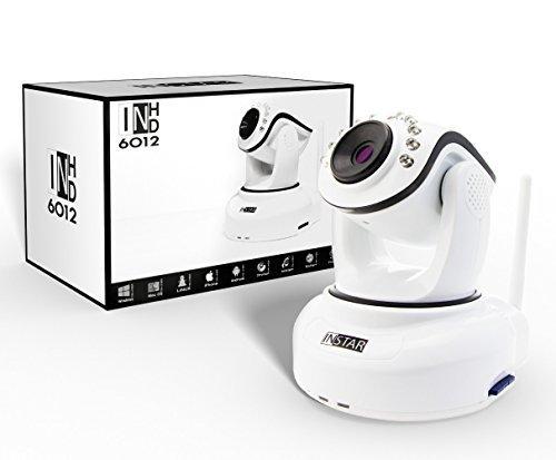 Vorschaubild Instar steuerbare WLAN IP-Kamera IN-6012HD(WDR-Bildsensor, WLAN, 1 Megapixel, 10x IR LEDs, 8 Watt) weiß