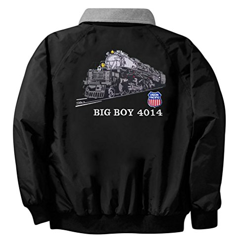 UP Big Boy 4014 Embroidered Jacket Front and Rear Adult 3XL [18r]