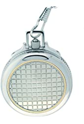 Colibri Swiss Collection Pocket Watch Stainless Steel and 14K Gold Accent PWQ096976S
