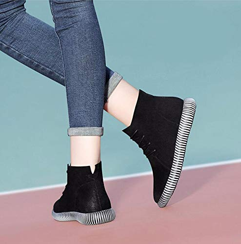 Hbdlh Boots Piatto Trentaquattro E Chelsea Scarpe Frenulo A Il stivali  Forty L inverno Fondo Moda ... fe107229157