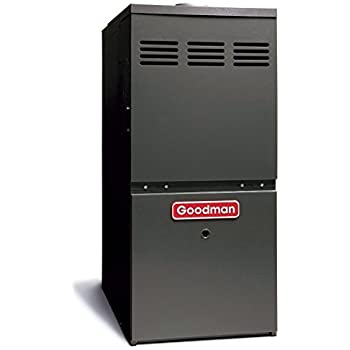 Goodman 80 000 BTU 80% AFUE Upflow/Horizontal Gas Furnace model GMH80803BN