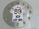 "Baseball Wall Clocks - 12"" X 12"" X 2"" M L B Jersey Themed Colours Clock - American League - Let's GO Editions !!"