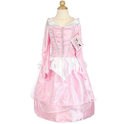 Pink Velvet Two Tone Hoop Princess Dress Costume (Large) (Pink Velvet Princess Costume)