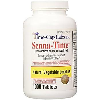 Amazon Com Senna Time Generic For Senokot Natural