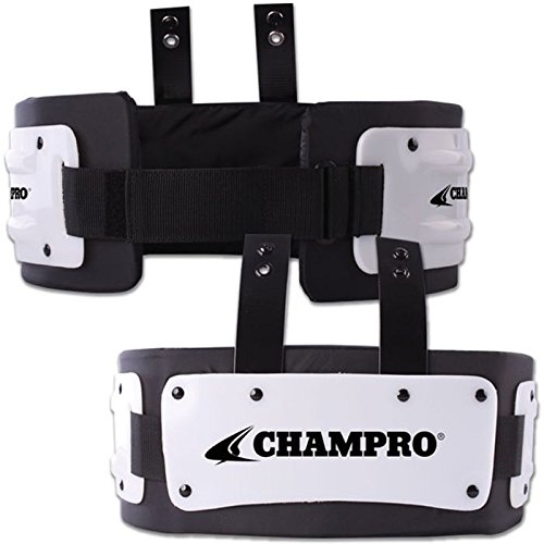 (Champro Adult Medium Rib Protector, Black - Fits Players Approximately 100-160 lbs)