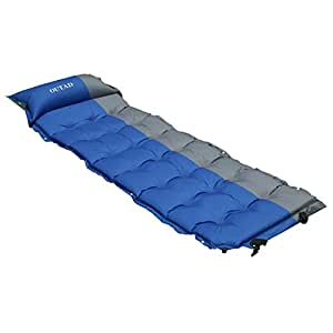 Amazon.com: OUTAD autohinchable Sleeping Aire Colchón Pad ...