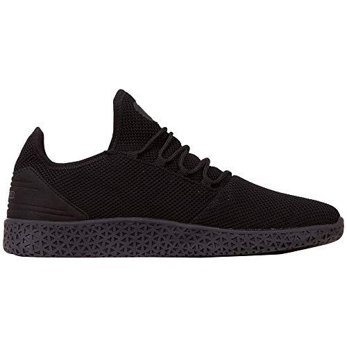 Unisex Kappa Knt Sneaker black Eu adulto Schwarz 42 Icon Oc 1111 nIIw54Ur