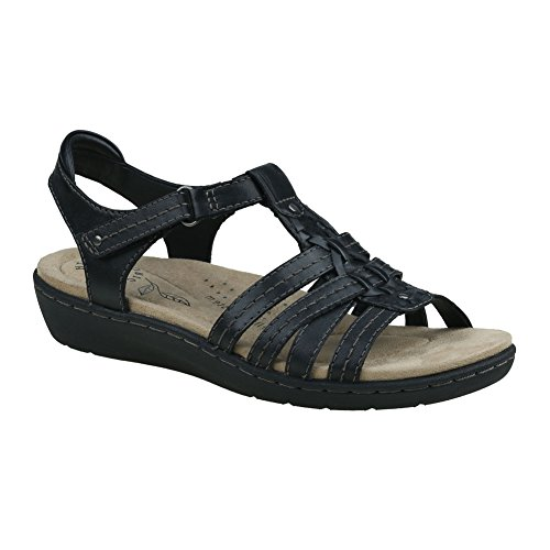 Earth Origins Earth Origins New Women's Amelie Sandal Black 9 price tips cheap