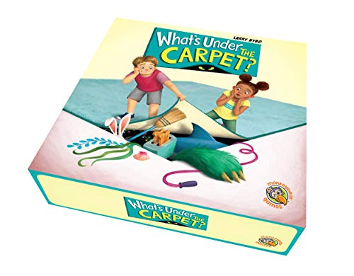 - Quirky Engine – What's Under The Carpet – a Best Family Board Game for 2 – 5 Players – 4 and up