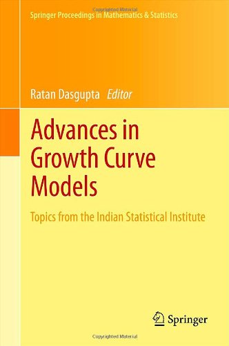 Advances in Growth Curve Models by , Publisher : Springer