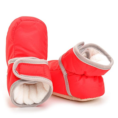 Pictures of Enteer Infant Waterproof Snow Boots Premium Soft 3