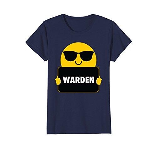 Womens Warden Shirt Sunglasses T-Shirt Tee XL - Sunglasses Warden