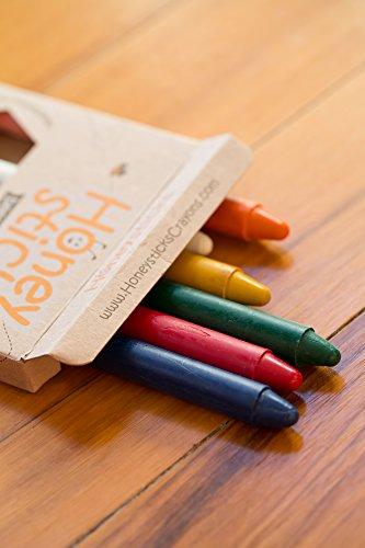 Honeysticks 100 Pure Beeswax Crayons 8 Pack Thins