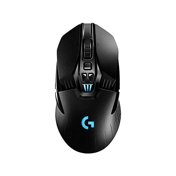 Logitech G903 LIGHTSPEED Wireless Gaming Mouse W/ Hero 16K Sensor, 140+ Hour with Rechargeable Battery and Lightsync RGB…