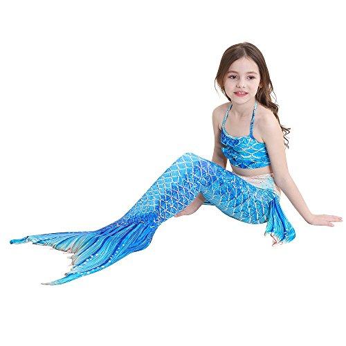 SAIANKE Dh12 da scintillante monopinna sirena coda con per bagno nuotare di fxwHFnrRqf
