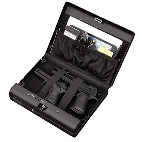 Caja fuerte con llave de metal | Caja de seguridad portátil ...