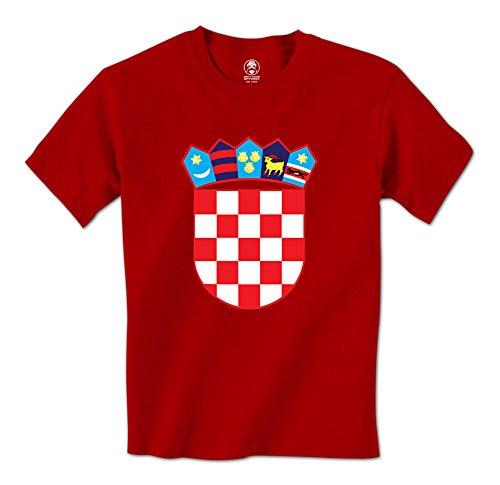 Coat Of Arms Crest Croatian Pride Mens T-Shirt (XL Red) ()