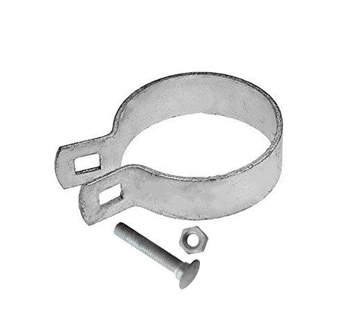 Fence Brace (V Gard Iron Galvanized Fence Brace Band 3