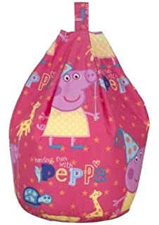 Peppa Pig Funfair Girls Filled Childrens Kids Bean Bag New