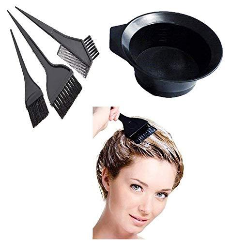 Buy AASA Hair Dye Accessories, Hair Dye Bowl And Brush Set ...