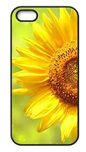 Back Case Durable Beautiful And Colorful Sunflower Case For iPhone 5,5s