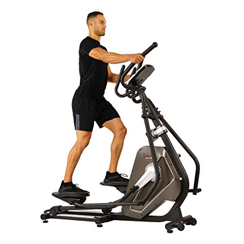 Incline Elliptical Trainer (Sunny Health & Fitness Magnetic Elliptical Trainer Elliptical Machine w/Tablet Holder, LCD Monitor and Heart Rate Monitoring - Circuit Zone)