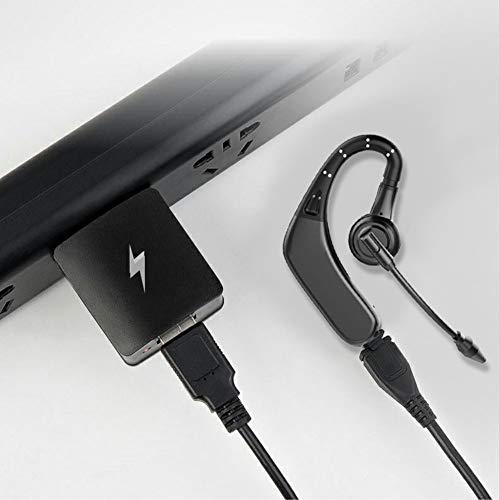 yunbox299 Earphone Earbud Headset Headphone M8 Bluetooth Wireless Earhook Sports Business Ear Bud Earphone Headphone Black by yunbox299 (Image #3)