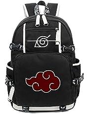 Siawasey Anime Naruto Cosplay Bookbag Backpack Shoulder Bag School Bag