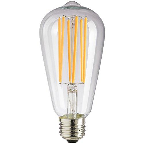 Sunlite S19/LED/AQ/6W/DIM/CL/22K Vintage S19...