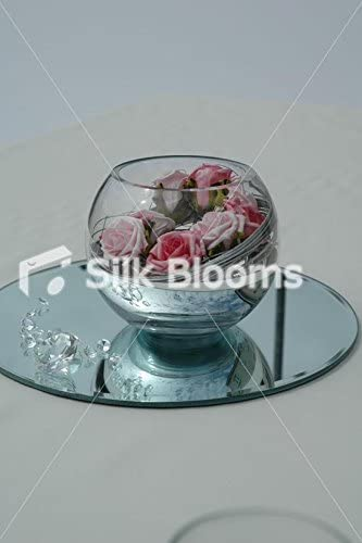 Mesa para boda de Rebecca Mary Cooper y pecera espiral de arreglo ...