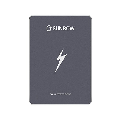 TCSunBow 2.5 Inch SATA3 Internal Solid State Drive 60gb 64gb SSD for PC Laptop Desktop POS Game Advertising Machine (X3 60GB)