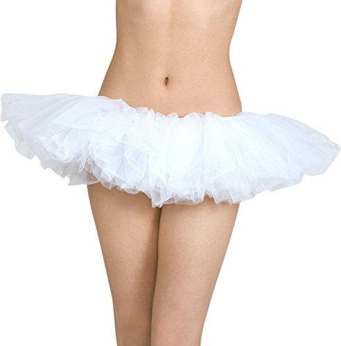 Organza Tutu White (White Tutu Dress For Adults)
