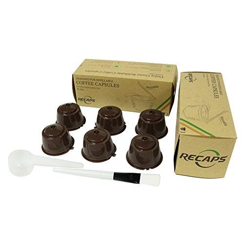6 Tassen / Pack Nachfüllbare Dolce Gusto Kaffeekapsel Mehr Als 200 Mal Wiederverwendbare Dolce Gusto Kaffeekapselfüllung