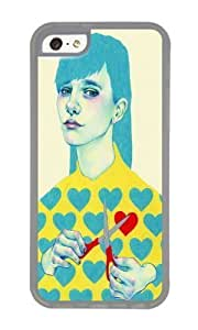 linJUN FENGApple ipod touch 5 Case,WENJORS Adorable Create I Soft Case Protective Shell Cell Phone Cover For Apple ipod touch 5 - TPU Transparent