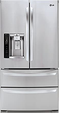 Charmant LG LMXS27626S French Door Refrigerator, 27.0 Cubic Feet, Stainless Steel