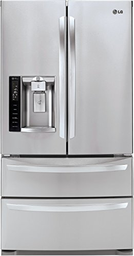 LG LMXS27626S French Door Refrigerator, 27.0 Cubic Feet, Stainless Steel