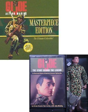 GI Joe Masterpiece Edition 12 inch Action Marine - Brown Hair Action Figure Box Set ()