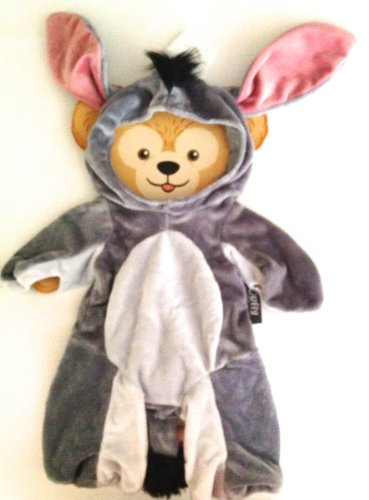 [Disney Duffy the Bear Eeyore Donkey from Winnie The Pooh Dress Up Costume] (Walt Disney Outfits)