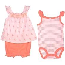 Carters 3-piece Bodysuit, Top & Shorts Set