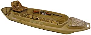 Otter Stealth 2000 Twin Gun Duck Boat Marsh Brown