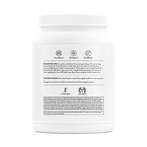 Thorne Research - MediClear Plus - Detox, Cleanse, and Weight Management Support - Rice and Pea Protein-Based Drink Powder with a Complete Multivitamin-Mineral Profile - 26.8 Oz by Thorne Research (Image #8)