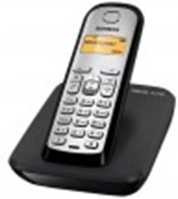 Siemens AS290 Trio - Teléfono fijo digital (inalámbrico, pantalla LCD, identificador de llamadas), negro y plateado: Siemens: Amazon.es: Electrónica