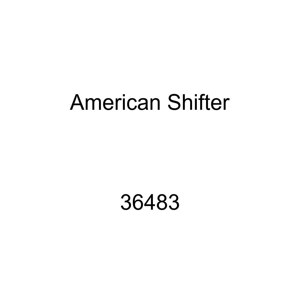 American Shifter 36483 Orange Metal Flake Shift Knob with 16mm x 1.5 Insert Yellow Swallow