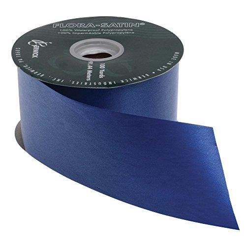 2 1/2 (W) Decorative Ribbon, Navy Blue