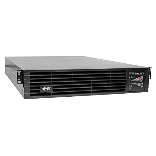Tripp Lite SmartOnline 120V 3kVA 2.7kW On-Line Double-Conversion UPS, 2U Rack/Tower, Extended Run, Network Card Option, ENERGY STAR (SU3000RTXL2U) (Double Conversion Smartonline)